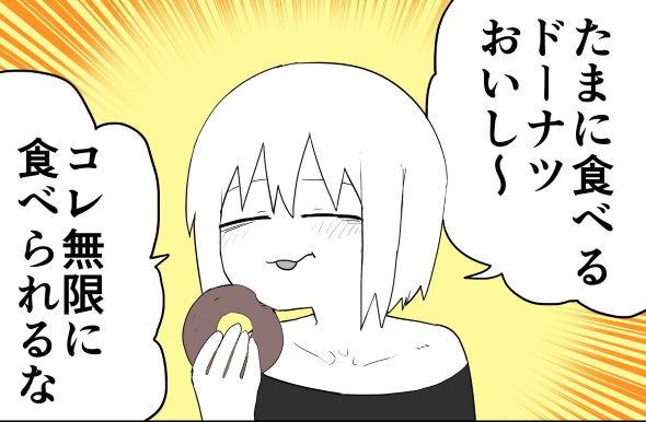 ドーナツ 漫画 twitter