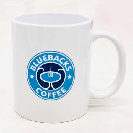 講談社 ブルーバックス コーヒー マグカップ 商品化