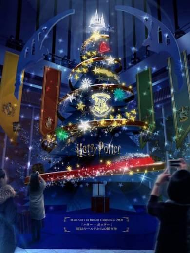 丸ビルの「Tree of Hogwarts Magicーホグワーツの魔法の樹ー」イメージ