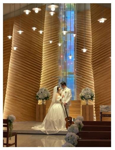 大浦龍宇一 ゆりえ ウエディング 結婚式 現在 妻