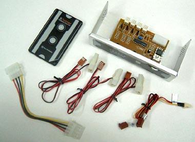 リモコン付きファンコントローラー、サーマルテイク「XTunner A2203」