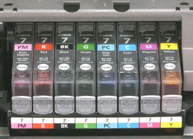 BCI-7系インクのアップ