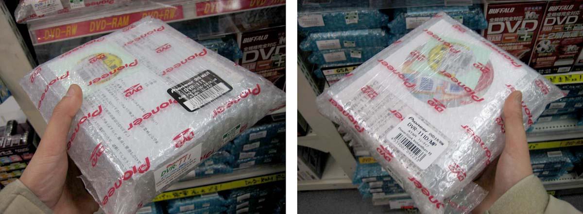 """週末アキバPick UP!:DVDドライブ新製品ラッシュの裏に、PC用""""BDドライブ登場間近""""という噂 (1/4)"""