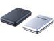 バッファロー、フローティング構造採用の耐衝撃ポータブルHDDに120Gバイトモデル