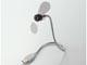 エレコム、2枚羽根タイプの小型USB扇風機