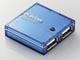 エレコム、4センチ角の小型筐体を採用するUSBハブ2モデル