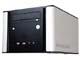 PCケース:3層サイドパネルでシステム音を抑制する静音キューブケース