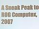 ASUS次期主力マザー「Blitz」発見!──COMPUTEX TAIPEI 2007プレビュー