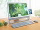 2009年PC春モデル:春の3色で展開するエントリー向け液晶一体型PC——「VAIO type J」