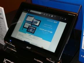 タブレットとして使ってもらいたい「ICONIA TAB W500」