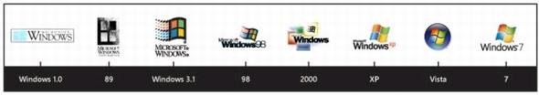 windows logo history