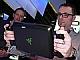 """2013 International CES:IntelブースでRazerの""""ゲーミング""""タブレットPCを握ってみた"""