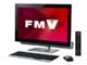 視線とタッチで操作できる地デジ内蔵液晶一体型PC——「FMV ESPRIMO FH78/LD」