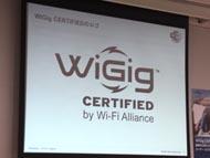 WiGig CERTIFIEDロゴ