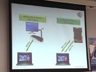 WilocityとDisplayLinkが示したWiGig製品のデモ