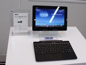 2560×1600ドットの超高解像度ディスプレイを採用した10.1型Androidタブレット「ASUS Pad TF701T」