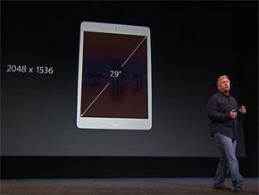 iPad mini Retina�f�B�X�v���C���f��