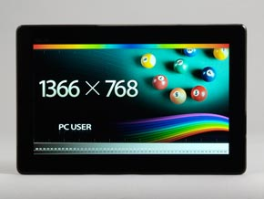 TransBook T100TAのディスプレイ解像度