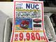 """週末アキバ特価リポート:あの""""赤NUC""""が9980円で買える!"""