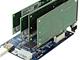 アユート、PCI Express x1スロットを4基に増やす拡張カード「PM-PCIE1T4」