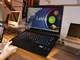 次期LaVie Zの実機でディスプレイを360度開いてみた