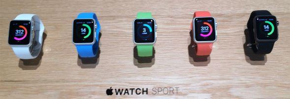 新しいMacBook以上に選択肢が豊富な「Apple Watch」