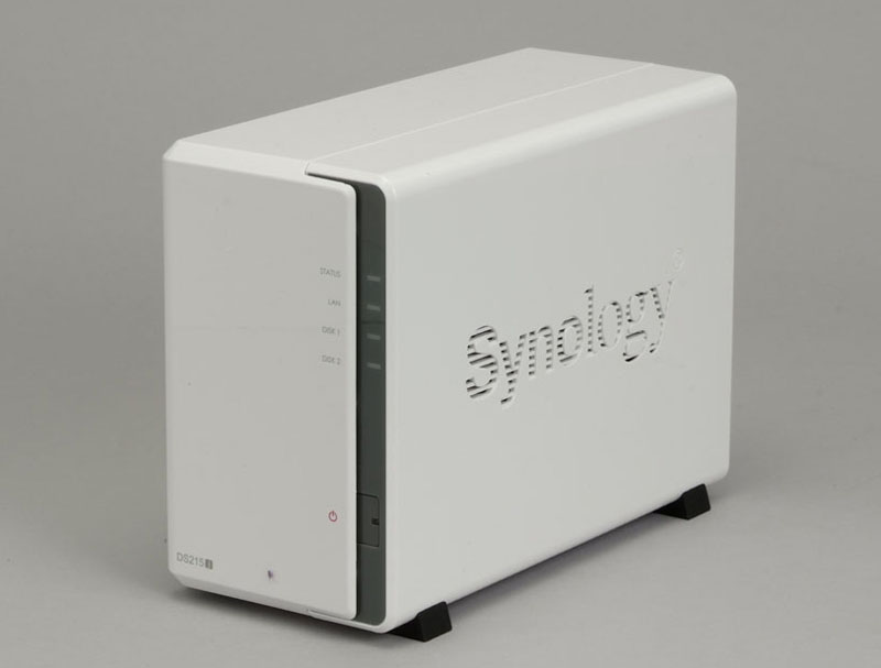 SynologyのSOHO/家庭向け2ベイモデル「DS215j」