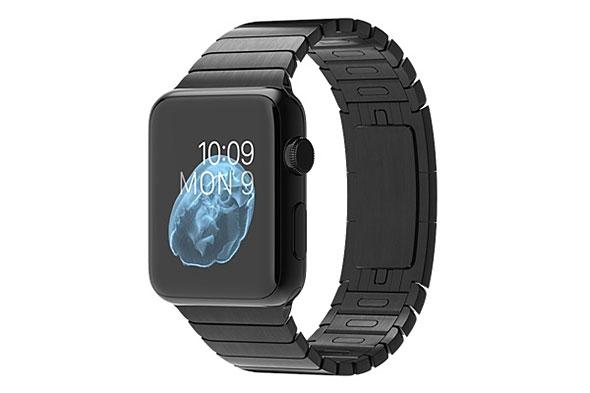 Apple Watch 42mm スペースブラックステンレススチールケースとスペースブラックリンクブレスレット