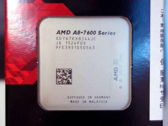 A8-7670Kパッケージ