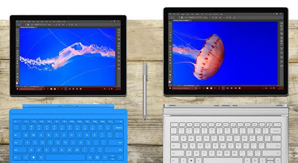 Surface Pro 4/Surface Book