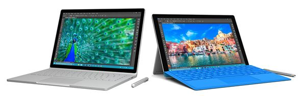 Surface Book/Surface Pro 4