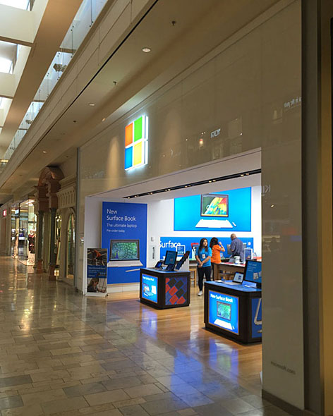 Microsoft Store外観