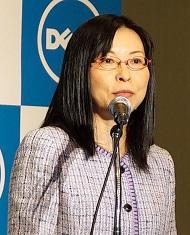 クライアント・ソリューションズ統括本部統括本部長の山田千代子氏