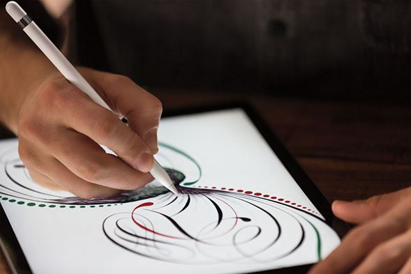 タブレットと筆圧ペン