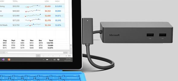 Surface Connectで接続するSurface Dock