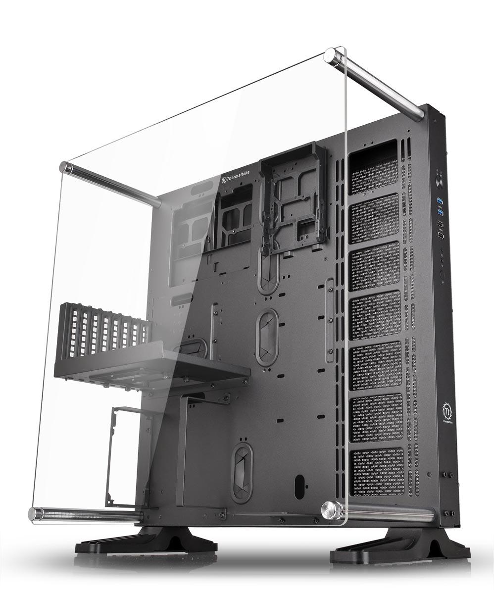 "ef187f72e3 Thermaltake、内部パーツをすべて見渡せる""壁掛け""対応のオープンフレーム型PCケース - ITmedia PC USER"