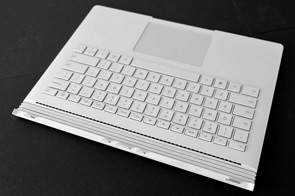 Surface Bookのキーボード