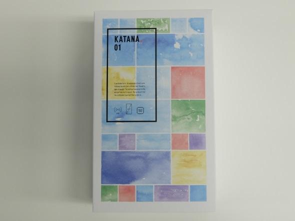 KATANA 01のパッケージ
