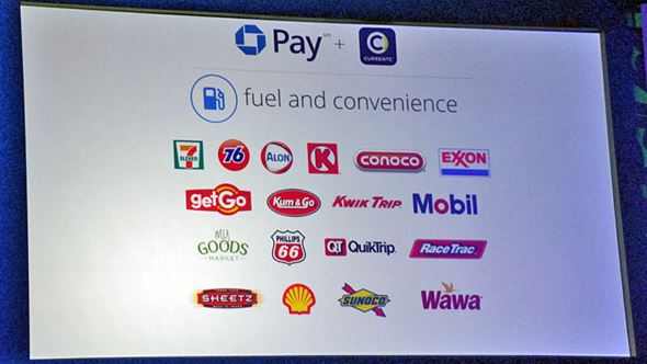 Chase Pay+CurrentC