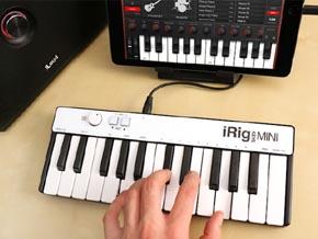 フォーカルポイント、iOS/Androidでも使える25鍵の小型MIDIキーボード ...