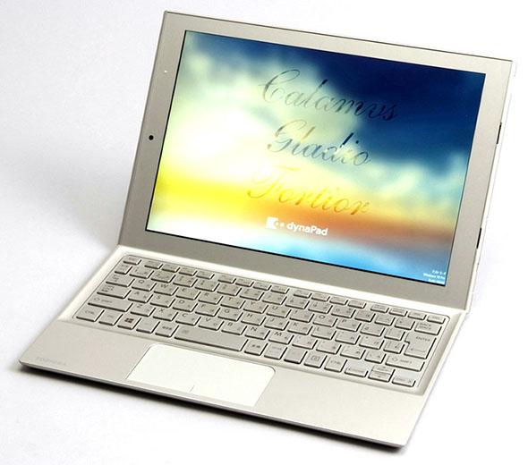 デジタルノートとして、紙ノートの代替を提案する「dynaPad N72」