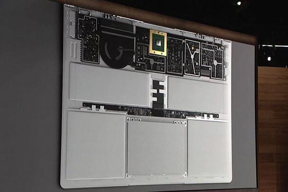 キーボードの内部構造
