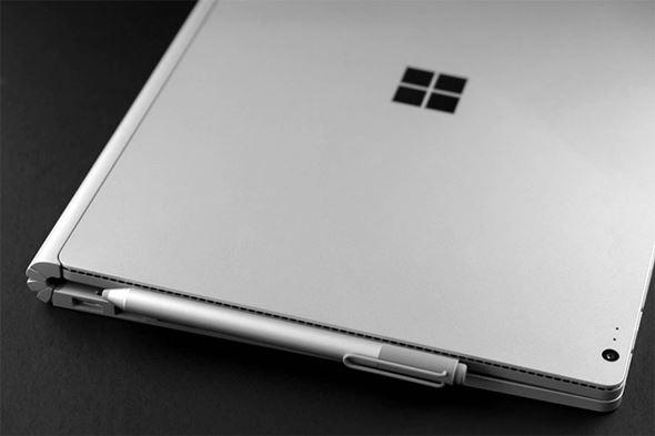 Surface Penはマグネットで装着可能