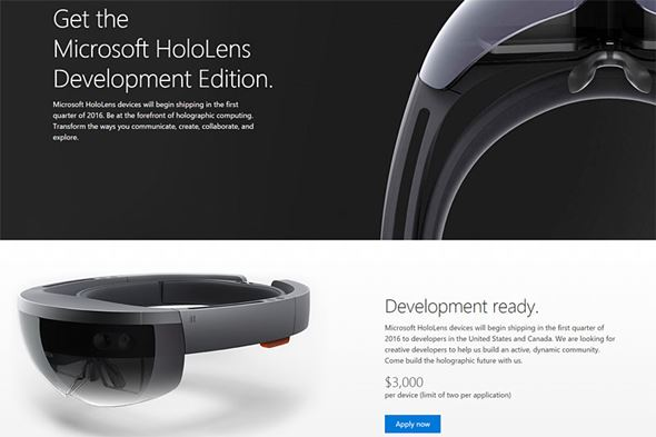 HoloLens開発キット
