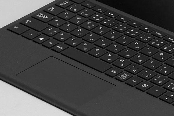 Surface Pro 4 Type Coverのタッチパッド