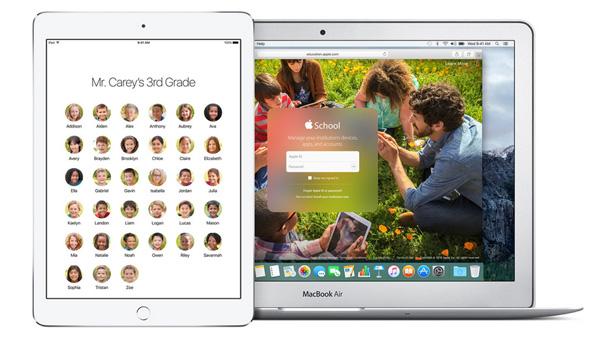 iPadのマルチユーザー機能(教育機関向け)