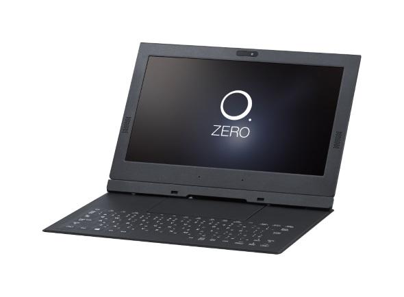 フラットカバーキーボードを装着したHZ100