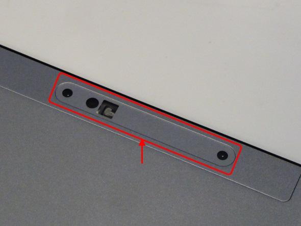 HZ300/DAのリアカメラは、Intel RealSense対応の3Dカメラ