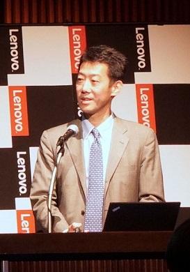 レノボ・ジャパン コマーシャル製品事業部Think製品プラットフォームグループ部長 大谷光義氏