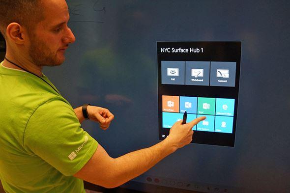 Surface Hubのアプリ切り替え